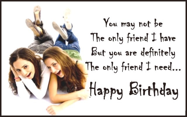 Best Happy Birthday Cards for Best Friends with Wishes