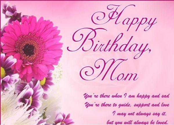 Happy Birthday Wishes, Messages & Images for Mom - Mom's