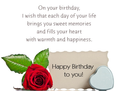 Birthday WIshes And SMS