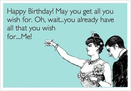 Funny Birthday Wishes For Boyfriend - Funny Birthday Quotes ...